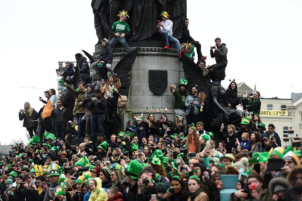 В 1903 году День Святого Патрика стал официальным выходным днем в Ирландии.