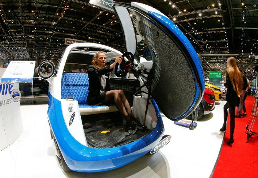 Швейцарская компания Micro Mobility Systems AG представила электрический микроавтомобиль Microlino Prototype 1. При создании этой модели дизайнеры черпали вдохновение в образе легендарной BMW Isetta.