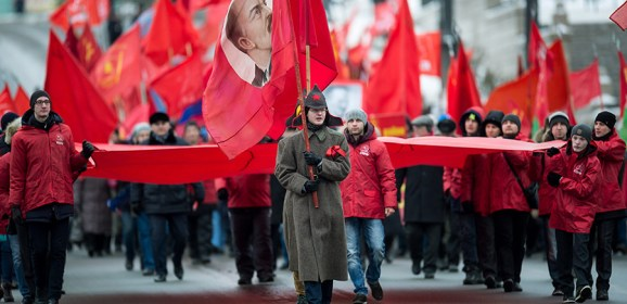 Fighting Russophobes & enemies of Soviet rule tops Communist election agenda