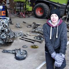 Датский школьник случайно нашел на ферме «Мессершмитт» с останками пилота