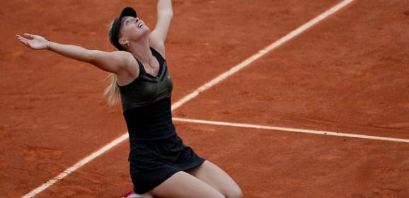 Russian tennis star Maria Sharapova celebrates her 30th birthday