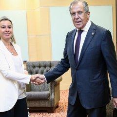 Могерини и Лавров обсудили соблюдение прав человека в России