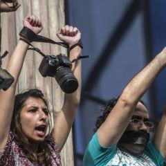 صحافيون خلف القضبان.. 259 معتقلا حتى نهاية 2016