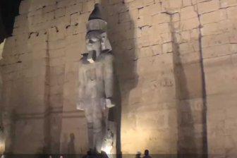 В Египте огромную статую Рамcеса II восстановили из осколков