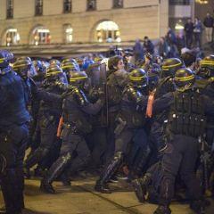 В Париже задержаны 143 участника манифестации против «Национального фронта»