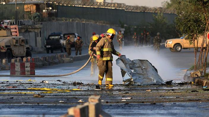 В результате серии терактов в Кабуле погибли более 30 человек.