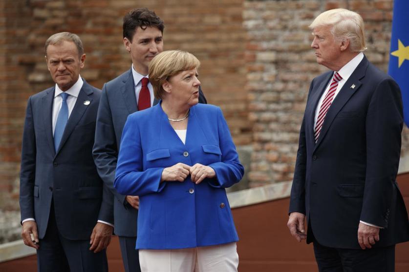 InoPressa (тема дня): После саммита G7 Меркель поставила жирную точку
