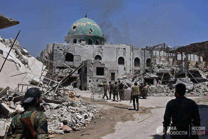Ранее между руководством страны и рядом незаконных бандформирований было достигнуто соглашение, согласно которому боевиков и членов их семей покинули Кабун и отправились в сторону Идлиба.