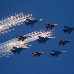 Главком ВКС сообщил о прошедших войну в Сирии и участвующих в параде летчиках