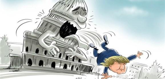 البيت الأبيض يبحث إجراءات عزل الرئيس من منصبه !