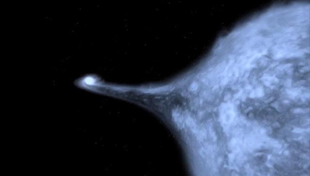 Астрономы открыли главную фабрику антиматерии в Галактике