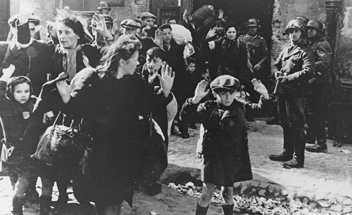 Евреи во время оккупации Варшавы Германией