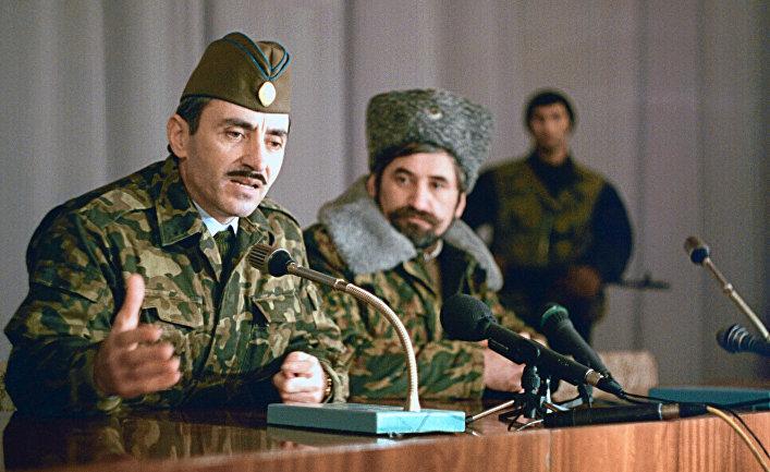 Президент Чеченской Республики Д.Дудаев
