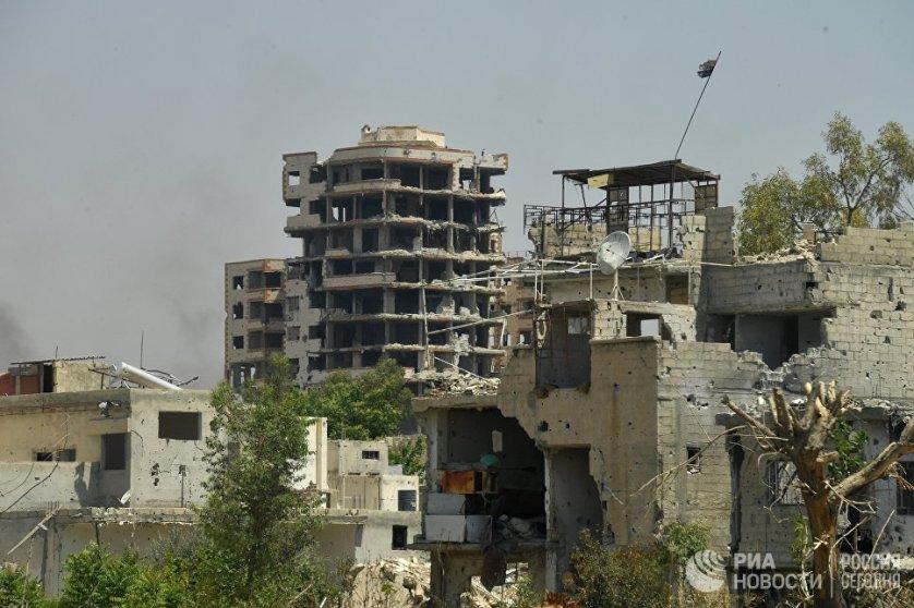 Сирийская армия взяла под контроль Кабун 13 мая.
