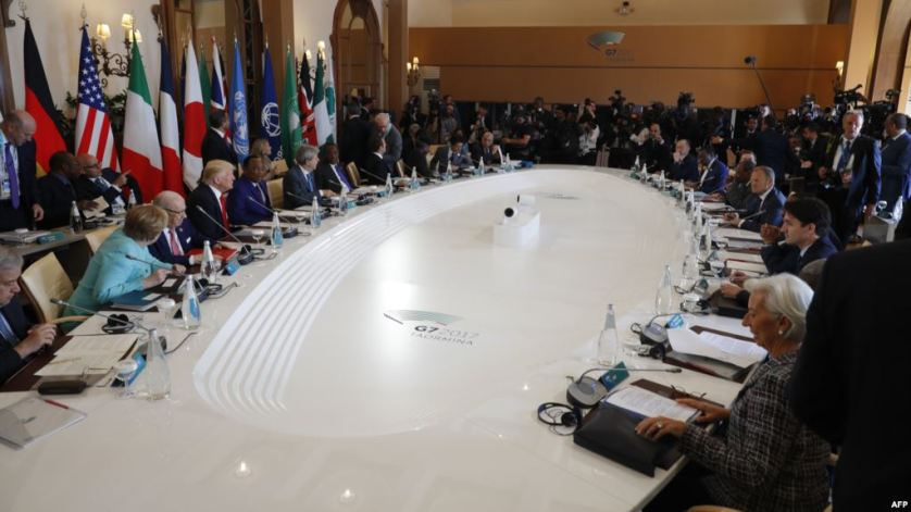 مجموعة السبع تسعى للتفاهم حول التجارة والمناخ