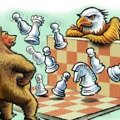 Middle East panorama (Ливан): Российско-американская борьба за лидерство в мире
