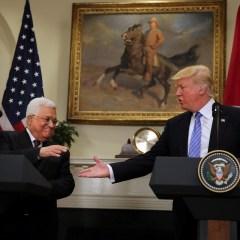 Махмуд Аббас встречался с Дональдом Трампом