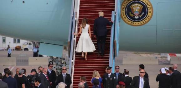 ترامب يغادر إسرائيل الى الفاتيكان