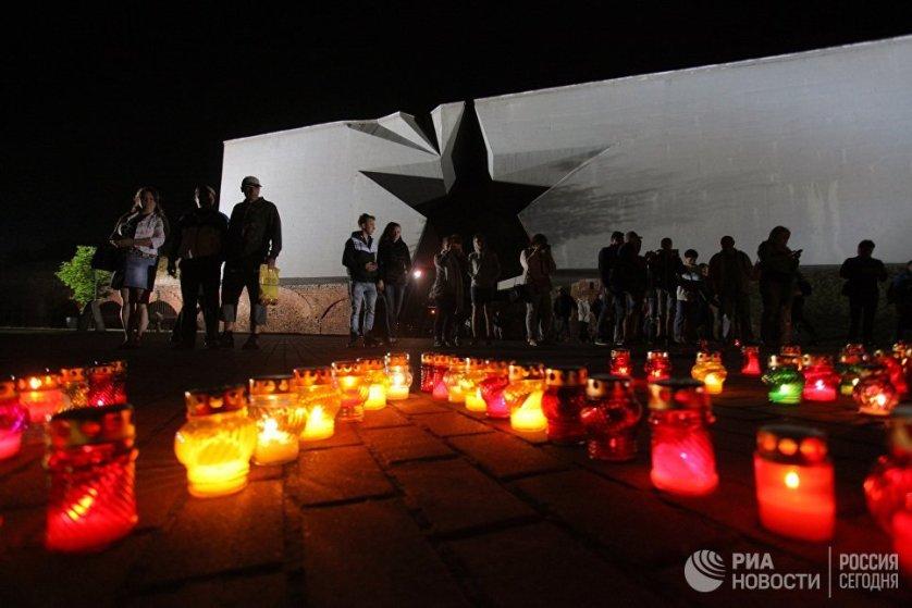 Акции памяти, прошедшие в день начала Великой Отечественной войны