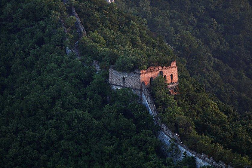 На данный момент восстановлена лишь десятая часть стены, построенной при династии Мин.