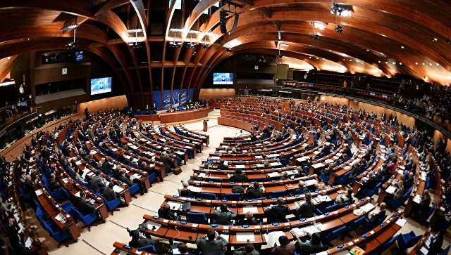 Докладчица ПАСЕ выступила за процедуру отстранения руководства ассамблеи