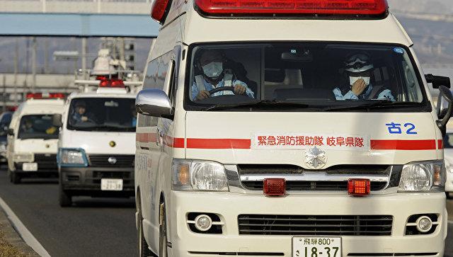 В Японии пенсионерка протаранила больницу, перепутав газ и тормоз