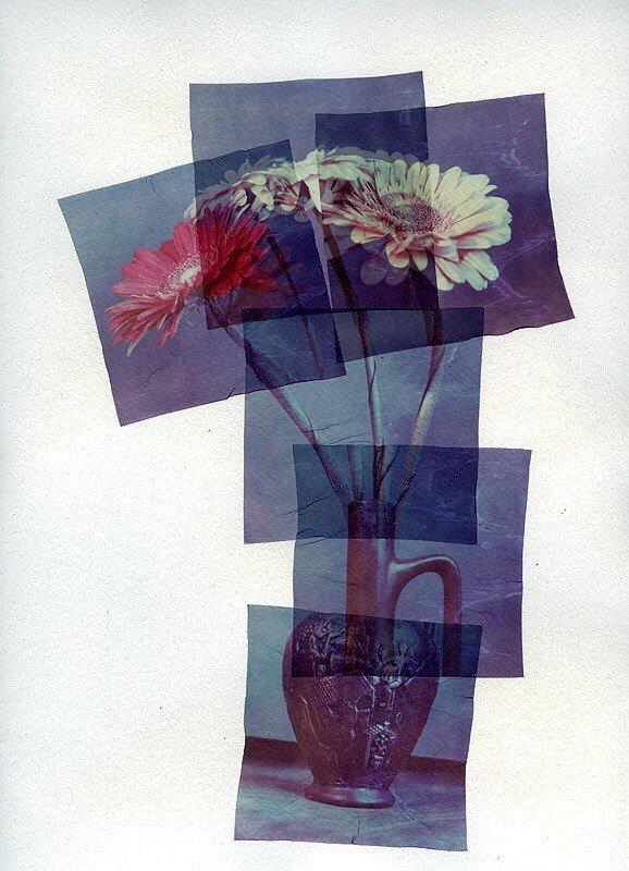 Техника Polaroid emulsion lift