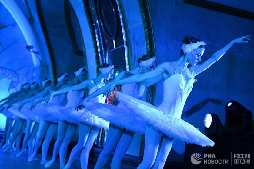 «Ночь русского балета» в московском метро