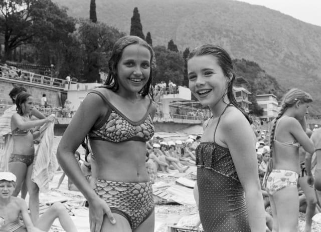 Саманта с Наташей Кашириной