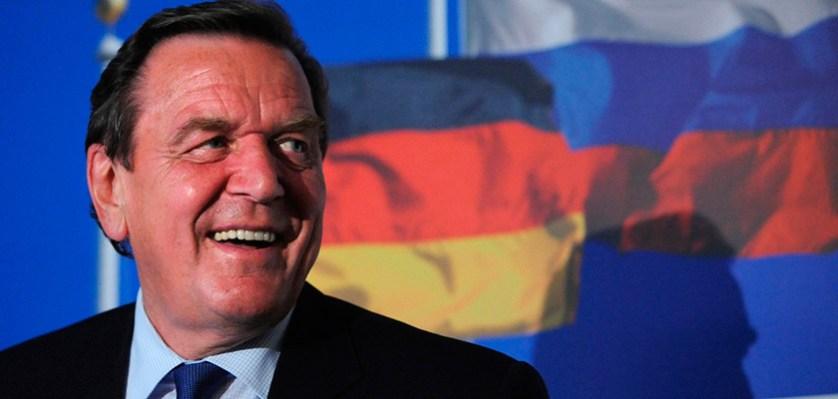 Шредер призвал немцев к хорошим отношениям с Россией