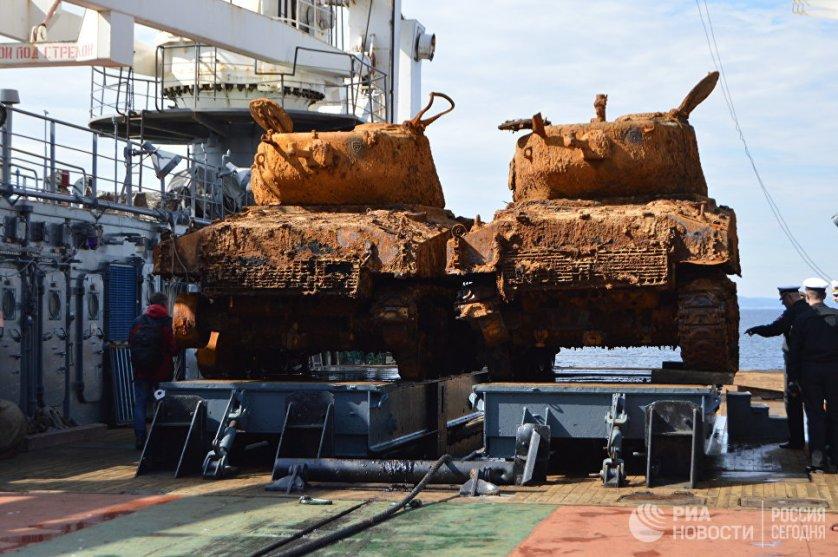 Специалисты Северного флота раскрывают тайну затопленного сухогруза США в Баренцевом море