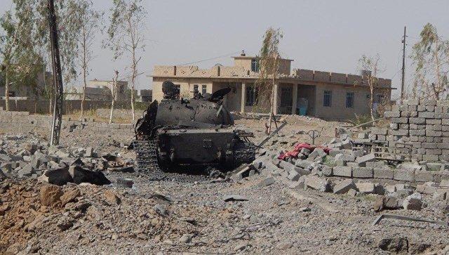 Сирийские войска восстановили контроль над 150 км границы с Ираком