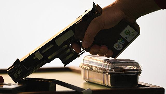 Россиянин Суханов взял золото в стрельбе из пистолета с 25 метров на ЧЕ