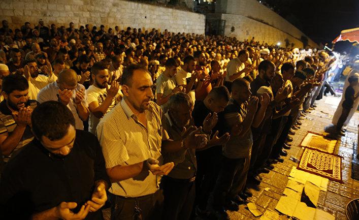 Al Modon (Ливан): Жителям Иерусалима не нравятся металлоискатели