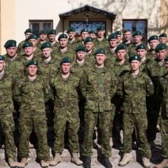 Эстонские военнослужащие в Ливане начали службу на базе ООН на голубой линии