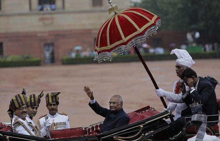 Новый президент Индии официально вступил в должность