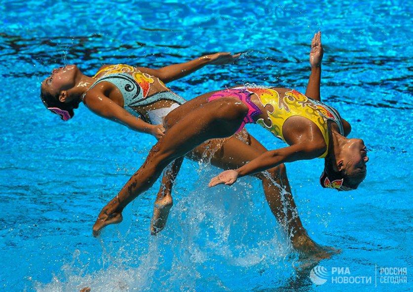 مباراة السباحة المائية في بودابست / هنغاريا