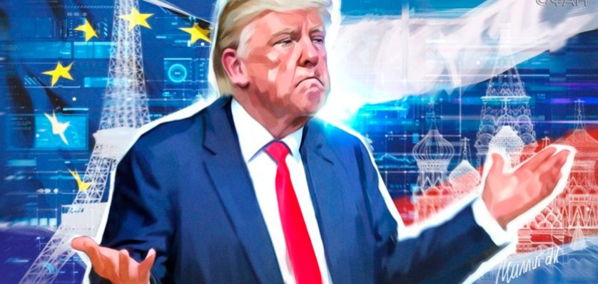 Прощай, Америка: в ответ на санкции Россия ослабит США и «заберет» себе Европу