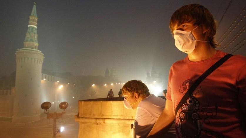 Роспотребнадзор оценил качество воздуха в России