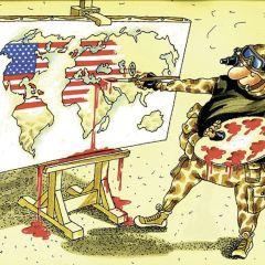 Thawra (Сирия): Оккупация Европы Соединенными Штатами и контроль над источниками энергии