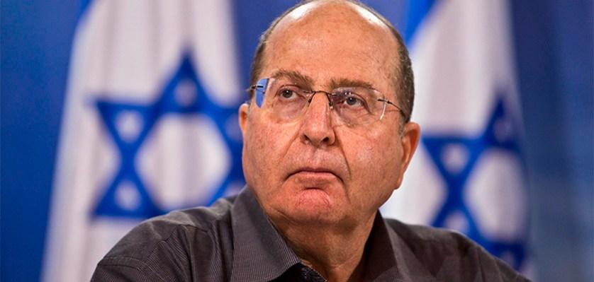 Бывший министр обороны Израиля Моше Яалон.