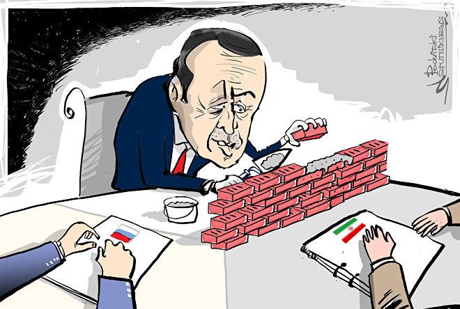 أردوغان يبني جدارا فاصلا بين تركيا وحل الأزمة السورية