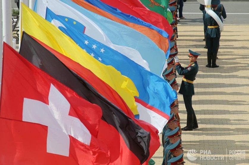 معرض للأسلحة  في روسيا  بمشاركة العديد من الدول