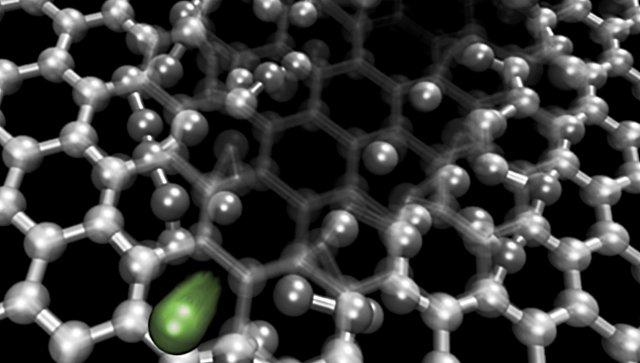 Российские физики научились делать «нанопоры» в графене