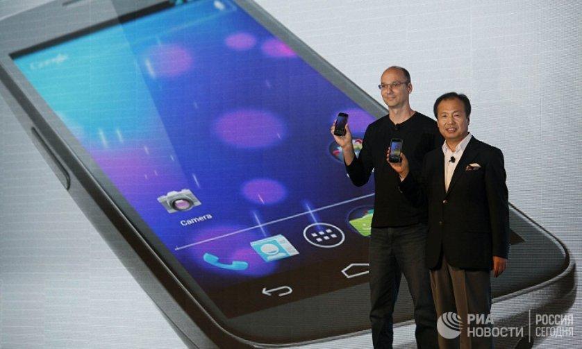 Samsung и Google представили первый смартфон с функцией Android 4,0 Cream Sandwich