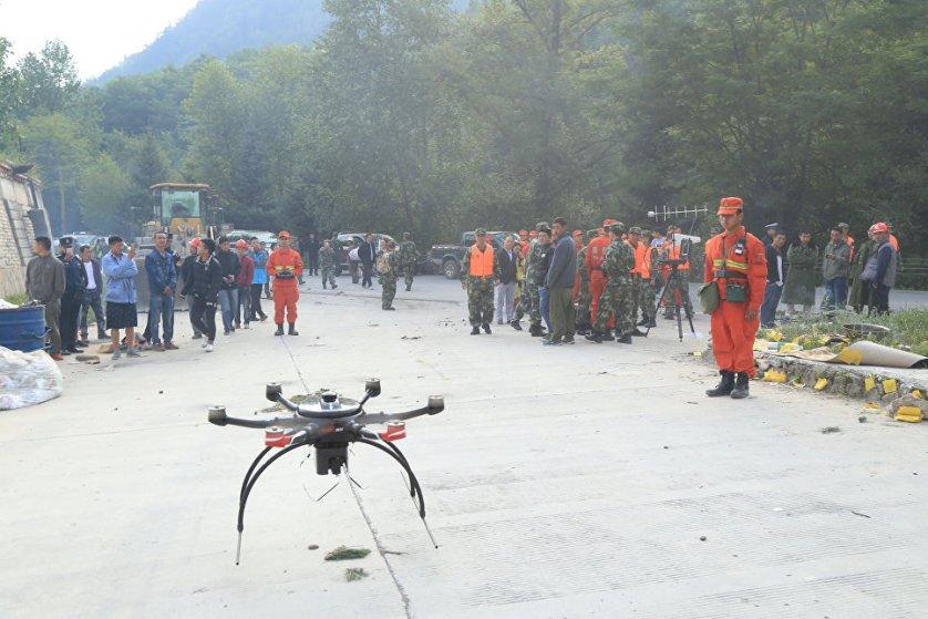 По данным Центрального телевидения КНР, состояние 40 пострадавших медики оценивают как тяжелое.