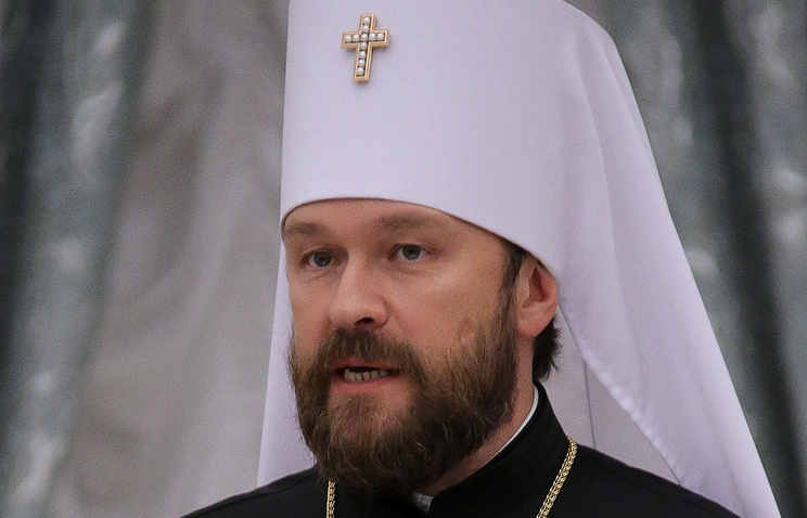 Митрополит Иларион: авторитет Русской Православной церкви в стране и мире сильно вырос (Интервью)