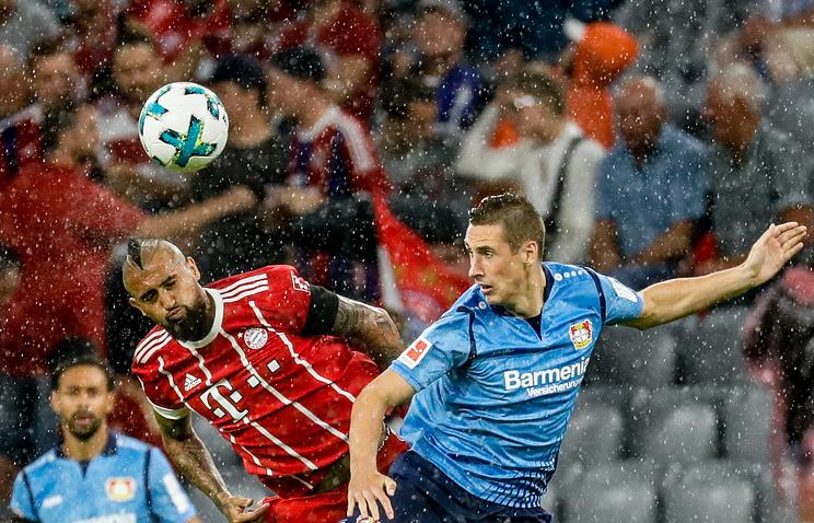 «Бавария» победила «Байер» в стартовом матче чемпионата Германии по футболу