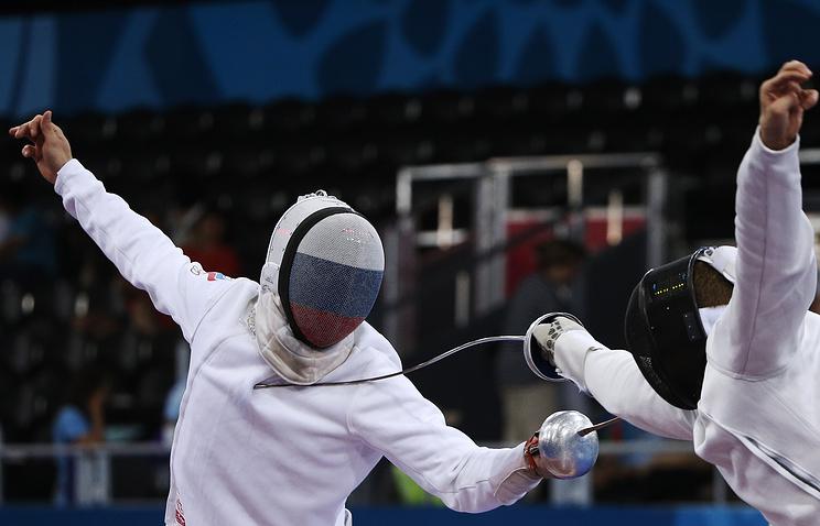 Россиянин Бида завоевал золото Универсиады в фехтовании на шпагах