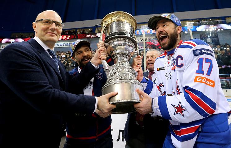 Победитель Кубка Гагарина сезона-2017/18 получит более 30 млн рублей от ТВ-прав